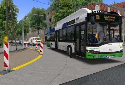 Zdjęcie Solarisa Urbino 12 Hybrid #5010 na linii 178